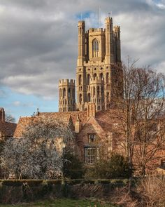 Ely Cathedral, England (by Paul Durnberger) Ely Cathedral, Dead Malls, Southern Europe, Tumblr, Amazing Buildings, Ancient Ruins, Central Europe, World Heritage Sites, Facade