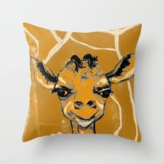 I love my mama Throw Pillow by sladja - $20.00 My Design, Moose Art, Throw Pillows, My Love, Animals, Toss Pillows, Animales, Cushions, Animaux