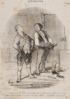 Gravures Honoré Daumier : 9e Mondial de l'Estampe et de la Gravure - Triennale de Chamalières
