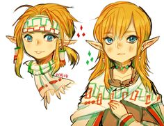 Gerudo Link!! by onisuup