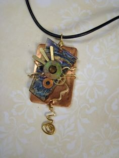 friendly plastic jewelry ideas | Friendly Plastic / More art jewelry for more ideas visit http ...