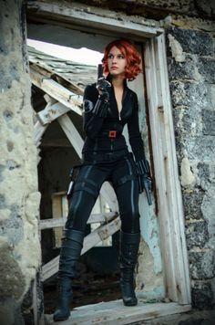 Black Widow, Natasha Romanov by Karenscarlet.