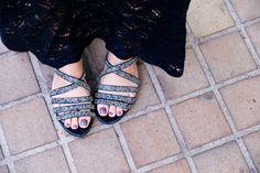 flat sandals #flats #shoes #summer