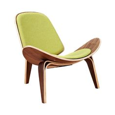 Hello, gorgeous! With its stunningly curved, mid-century–inspired silhouette, this Wings Chair will prove a statement piece in any contemporary or transitional living space. This charming chair comes e...  Find the Wings Chair in Walnut and Fabric, as seen in the On the Modern Side of Mid-Century Collection at http://dotandbo.com/collections/on-the-modern-side-of-mid-century?utm_source=pinterest&utm_medium=organic&db_sku=116439