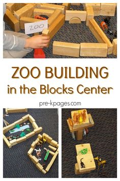 Build a Zoo in the Blocks Center is part of Build A Zoo In The Blocks Center Pre K Pages - Animals and other items in the blocks center for zoo building; for preschool, prek, and kindergarten classrooms; STEM activity in the block center Zoo Activities Preschool, Zoo Animal Activities, Preschool Activities, Preschool Jungle, Preschool Printables, Nursery Activities, Preschool Projects, Letter Activities, The Zoo