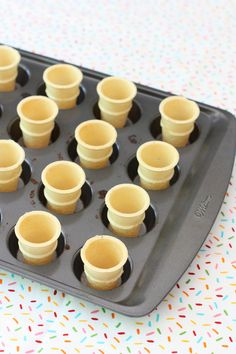 How to make mini ice cream cake cones!..... These are adorable!... I made these for my kids when they were young!