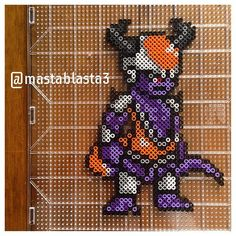 Lord Chilled - Dragon Ball perler beads by mastablasta3