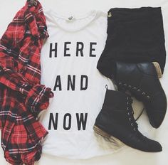 love this! get a flannel and some new shorts! maybe a white graphic tee also