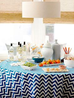 We love the decor for this budget-friendly summer party! See more about this get-together: http://www.bhg.com/party/birthday/themes/host-a-summer-party-on-a-budget/?socsrc=bhgpin073012budgetfriendlysummerparty