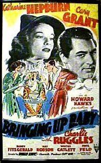 Bringing Up Baby is probably the best screwball comedy ever made.  Well, maybe second to Some Like It Hot.  Silly and outlandish, but Hepburn and Grant are fantastic together.