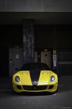 Yellow and black Ferrari~