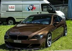 BMW E63 6 series brown LED Tuning