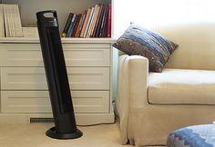 Adjustable Tilt Tower Fan @ Sharper Image