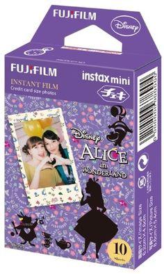 Fuji Instax Mini Films - Disney Alice in Wonderland | Usable with Polaroid Mio & 300 - Lomo Diana Instant Back | 10 sheets Fujifilm http://www.amazon.com/dp/B00GAOQSZ6/ref=cm_sw_r_pi_dp_jhPwub08PTW93