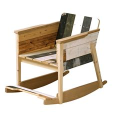 Scrapwood Rocking Chair  design: Piet Hein Eek
