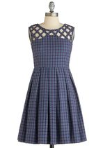 Been There, Grenadine That Dress in Blue | Mod Retro Vintage Dresses | ModCloth.com
