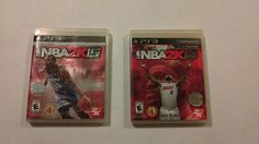 NBA 2K15/2K14 (Sony PlayStation 3, 2014/15) - PS3 Comp/Free Shipping