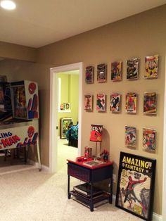 Another great example of one of our guests using ComicMount to drive a cool design element using comic books!  Great job!  www.comicmount.com