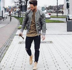 "aquatty: "" menstylica: "" magic_fox "" Daily streetwear over here "" Mode Outfits, Casual Outfits, Men Casual, Fashion Outfits, Fashion Trends, Fashion Updates, Mens Fall Outfits, Fashion Ideas, Fashion 2016"