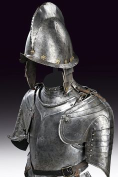 A cavalry light half armour,     	Europe,   	 last quarter of the 16th Century.
