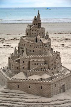 sandcastle...Billy likes building these with the kids. He would love to have all the right tools to build something this cool!