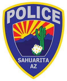 A Sahuarita man preparing his to take his gun to the firing range accidentally shot his dog in the mouth. Local Police, State Police, Arizona Law, We Make Up, Police Patches, Law Enforcement, Cops, Badges, Flags