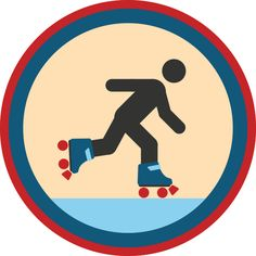 Lifescouts: Roller-Skating Badge If you have this...