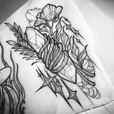 Healing Crystals Health - - Healing After Surgery Recovery - - Neotraditionelles Tattoo, Tatto Ink, Tattoo Outline, Tatoo Art, Tattoo Fonts, Tattoo Explore, Disney Tattoos, Witchcraft Tattoos, Natur Tattoos