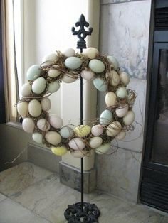 LOVE OF HOMES: Easter Mantel