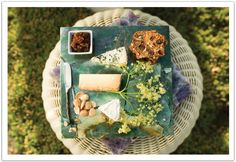 Ultimate cheese plate for luxe summertime picnic. Event style, design and coordination by Alchemy Fine Events.
