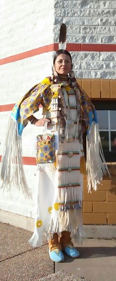 Tested out the new regalia at Alexander First Nation Traditional Pow Wow May 14, 2016... My 2015/2016 winter labour of love.