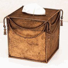 Swag & Tassel Tissue Box