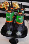 Jell-O Push Up Pops- Witches!  Halloween Party Foods