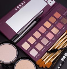 PRO Palette 4 Go PRO with LORAC PRO Palette The fourth edition to our original, best-selling PRO Palette, this PRO artistry palette is packed with 8 shimmer and 8 matte eyeshadows. LORAC's velvety-smooth shadows are ultra-pigmented to perform wet or Lorac Pro Palette, Beauty Tips, Beauty Hacks, Makeup Haul, Liquid Liner, Dark Shades, Lashes, Eyeshadow, How To Apply