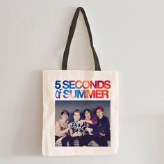 5 Seconds of Summer Tote Bag #Bags&Purses #MarketBags #totebag #shoppingbag  #cottonbag #cottonshoppingbag #cottontotebag #totebags #totebag #totebagdesign #bag #organiccottonbag #shoppingbags #Handbags #graphic #organic #Gray #White #design #drawing #features #original #Customtote #Weddinggift #Weddingbag #WeddingParentsGift #weddingtote #personalizedtote #weddingdaybag #beachtote #monogramedtote