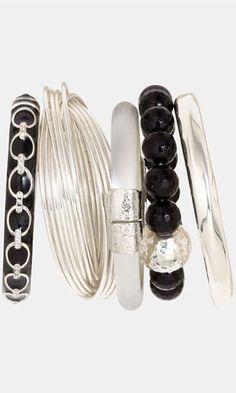 Alexis Bittar Stackable Bracelets