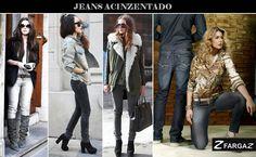 O Jeans é o bom companheiro para todas as horas e ocasiões. Segundo desfiles do Fashion Rio, uma novidade bem legal para esse inverno será o jeans cinza. O interessante do jeans cinza é  a sobriedade que ele traz para o look.