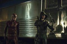 The Flash and Arrow.