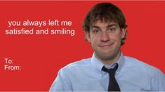 The office valentines, bad valentines cards, valentines pick up lines, funny valentine memes Valentines Pick Up Lines, Bad Valentines Cards, The Office Valentines, Valentines Day Memes, Valentines Gifts For Boyfriend, Nerdy Valentines, Valentine Ideas, The Office Show, Office Tv