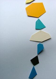 geometric shapes garland