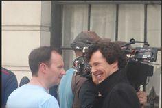 {Twitter / MycroftLuvsCake: That grin #setlock } Lovely!