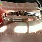 JUDITH RIPKA LINEN CANARY CRYSTAL BRACELET EUC - bracelet, Canary, Crystal, Judith, Linen, Ripka - http://designerjewelrygalleria.com/judith-ripka/judith-ripka-bracelets/judith-ripka-linen-canary-crystal-bracelet-euc/