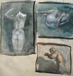 Steve Huston's sketchbook Kunst Inspo, Art Inspo, Art And Illustration, Guy Drawing, Painting & Drawing, Figure Painting, Figure Drawing, Figurative Kunst, Art Club