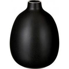 Luke Vase organique noir Taille L (www.habitat.fr) Vase Noir, Vases, Habitats, Organic, Organic Shapes, Human Height, Jars, Flowers Vase