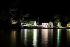 Το Νησάκι της Παναγίας στην Πάργα - Panagia island in Parga #parga Christian Louboutin Shoes, Pumps, Greece