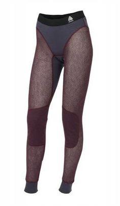 ACLIMA Woolnet Long Pants Women lilla RESTLAGER
