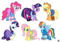 My Little Pony: Equestria Girls Outfits by Bananers97.deviantart.com on @deviantART