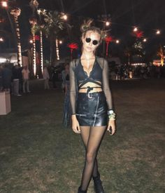 Josephine Skriver au Festival de Coachella 2017