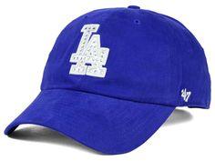 Los Angeles Dodgers '47 MLB Gemstone '47 CLEAN UP Cap