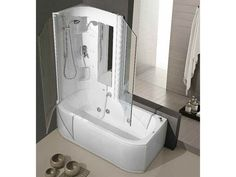 Vasca da bagno idromassaggio con doccia DUO BOX - HAFRO